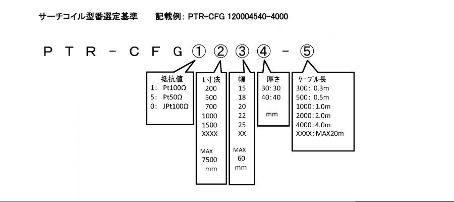 PTR-CFG format