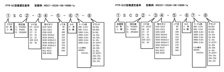PTR-SC format
