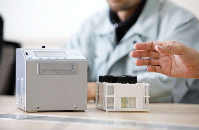 Trace of Ferrous-powder Detector